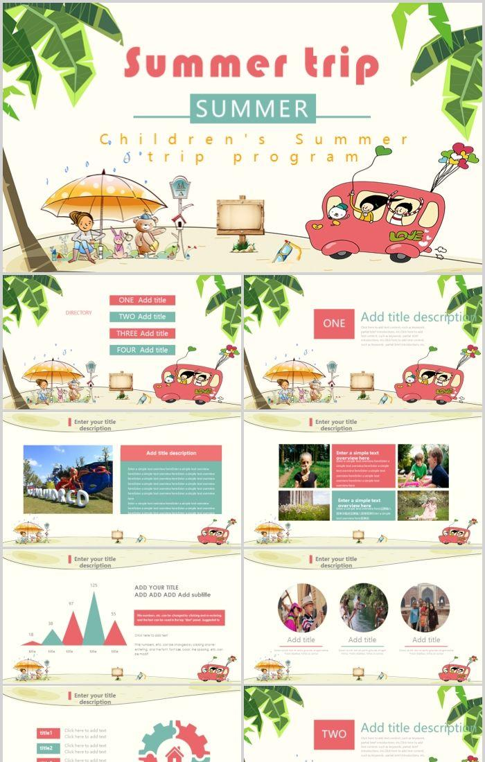 memory travel album travel plan itinerary ppt template